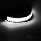CTSmart White Light 3-Mode LED Safety Strap Arm Band - Black