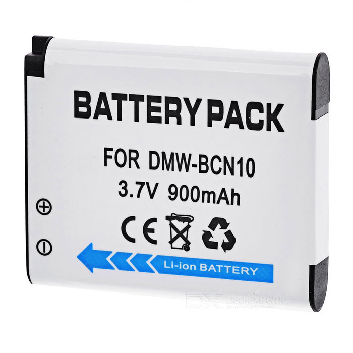 "3.7V ""900mAh"" Li-ion Battery for Panasonic LUMIX DMC-LF1 LF1GK"
