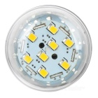 E27 8W LED Corn Bulb Lamp Light Warm White 3200K 544lm 80-SMD - Silver