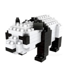 WLTOYS 6615 Panda Building Blocks Educational Toy for Children / Kids - Black + White