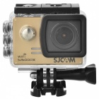 "SJCAM SJ5000X Sports Waterproof Action Camera w/ 2.0"", Wi-Fi - Golden"