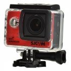 "SJCAM SJ5000X Sports Waterproof Action Camera w/ 2.0"" LCD,Wi-Fi - Red"