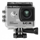 "SJCAM SJ5000X Sports Waterproof Action Camera w/ 2.0"", Wi-Fi - Silver"