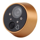"4.3"" 3.0 MP CMOS campainha video digital do peephole de 170 graus - preto"