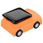DIY 0.15W Solar Powered Mini Educational Toy Cute Car - Red + Orange