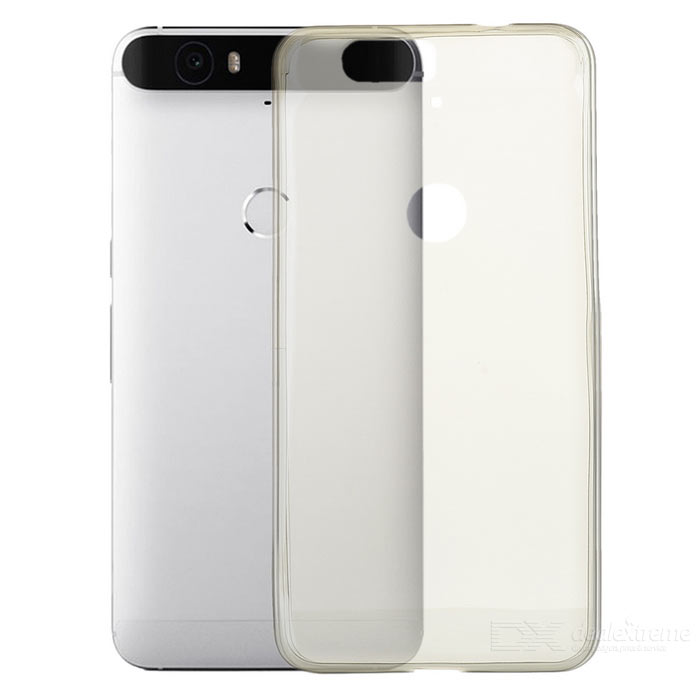 Ultra-Thin Protective Back Case for Google Nexus 6P - Transparent Grey