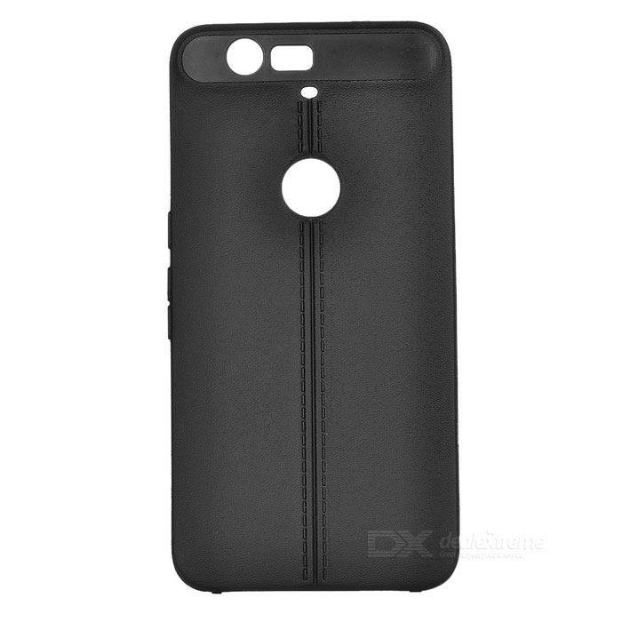 Protective TPU Back Case Cover for Google Nexus 6P - Black