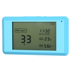 Smart PM2.5 Formaldehyde Flammable Gas Temperature Humidity Monitoring Tester w/ Calendar / Clock