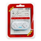 Cero 8Bitdo bluetooth inalámbrico gamepad - blanco + azul