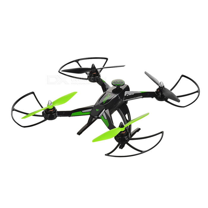 JJRC X1 R/C Quadcopter w/ Brushless Motor & LED Light - Green