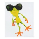 XQW-30 3D Frog Style PVC Car Decorative Decal Sticker