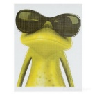 XQW-35 3D Frog Style PVC Car Decorative Decal Sticker