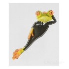 XQW-34 3D Frog Style PVC Car Decorative Decal Sticker