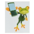 3D Stereo Frog Style Car Sticker