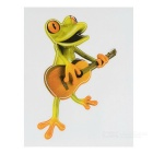 XQW-40 3D Stereo Frog Style PVC Car Decorative Decal Sticker