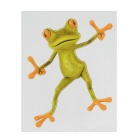 XQW-39 3D Frog Style PVC Car Decorative Decal Sticker