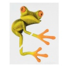 XQW-22 3D Frog Style PVC Car Decorative Decal Sticker