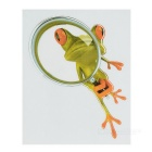 XQW-23 3D Frog Style PVC Car Decorative Decal Sticker