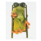 XQW-15 3D Frog Pattern PVC Car Decorative Decal Sticker