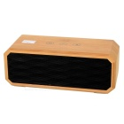 Bamboo Bluetooth V3.0 10W Speaker w/ Mic, NFC Pairing, Dual AUX Interface