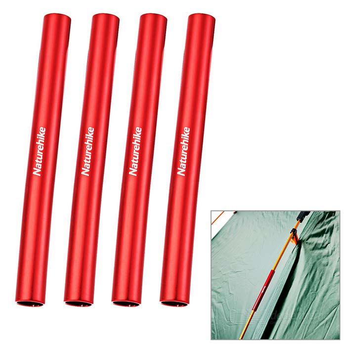NatureHike Emergency Repair Tube for D8.5mm Tent Poles - Red (4PCS)