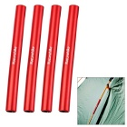 NatureHike Outdoor Camping Aluminum Alloy Emergency Repair Tube for D8.5mm Tent Poles - Red (4pcs)