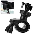 Bike Motorcycle Handlebar / Rearview Mirror Mount Holder Clamp for DVR / Sports Camera - Black