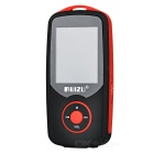 "RUIZU X06 MP3 Player w/ 1.8"" TFT, 3.5mm Jack, 4GB Memory - Black + Red"