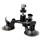 8 Inch 3-Suction Car Cup Mount Holder for GoPro Hero 4 / 3+ / XIAOMI YI / SJ4000