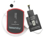 ismartdigi I-W-WCS1-Sam Wireless Charger Set for Samsung Galaxy S4/5/6, HTC