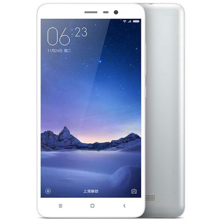 Xiaomi Redmi Note 3 5.5 Phone w/ 3GB RAM, 32GB ROM - Silver WhiteAndroid Phones<br>Form  ColorSilver WhiteRAM3GBROM32GBBrandXiaomiModelRedmi note 3Quantity1 DX.PCM.Model.AttributeModel.UnitMaterialABS plastic+IPSShade Of ColorSilverTypeBrand NewPower AdapterUS PlugHousing Case MaterialMetalNetwork Type2G,3G,4GBand Details2G GSM B2/3/8 3GWCDMA B1/2/5/8 3GTD-SCDMA B34/39 4GTD-LTE B38/39/40/41 4GFDD-LTE B1/3/7Data TransferGPRS,LTENetwork ConversationOne-Party Conversation OnlyWLAN Wi-Fi 802.11 a,b,g,n,acSIM Card TypeMicro SIMSIM Card Quantity2Network StandbyDual Network StandbyGPSYesInfrared PortYesBluetooth VersionOthers,v4.1Operating SystemOthers,MIUI 7CPU ProcessorMediatech  Helio X10(MT6795)CPU Core QuantityOcta-CoreLanguageSimplified Chinese, Traditional Chinese, German, Indonesian, Malay, English, Spanish, French, Italian, Hungarian, Dutch, Portuguese, Romanian, Vietnamese, Russian, Turkish, Greek, Hebrew, Arabic, Thai, KoreanGPUImagination PowerVR G6200Available MemoryN/AMax. Expansion SupportedDoes not support capacity expansionSize Range5.5 inches &amp; OverTouch Screen TypeCapacitive ScreenScreen Resolution1920*1080Screen Size ( inches)5.5Camera Pixel13.0MPFront Camera Pixels5.0 DX.PCM.Model.AttributeModel.UnitFlashYesTouch FocusYesTalk Time9-12 DX.PCM.Model.AttributeModel.UnitStandby Time264 DX.PCM.Model.AttributeModel.UnitBattery Capacity4000 DX.PCM.Model.AttributeModel.UnitBattery ModeNon-removablefeaturesWi-Fi,GPS,Bluetooth,NFCSensorG-sensor,Proximity,CompassWaterproof LevelIPX0 (Not Protected)Shock-proofNoI/O InterfaceMicro USB,3.5mmUSBMicro USB v2.0SoftwareCalculator, memo, calendar, notepad, radio, alarm clock, calendar, tape recorder, scene model, topic schemaFormat SupportedMP3/WAV/OGG/MID/AMR/MP4/3GP/M4A/RM/RMVB/WMV/JPEG/PNG/GIF/BMPJAVAYesTV TunerNoWireless ChargingNoPacking List1 x Cellphone1 x Data cable 90cm1 x US plug power adapter (100~240V)<br>