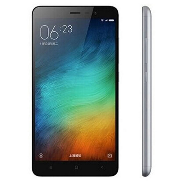 Xiaomi Redmi Note 3 5.5 Phone w/ 3GB RAM, 32GB ROM - Dark GreyAndroid Phones<br>Form  ColorDark GreyRAM3GBROM32GBBrandXiaomiModelRedmi note 3Quantity1 DX.PCM.Model.AttributeModel.UnitMaterialABS plastic + IPSShade Of ColorGrayTypeBrand NewPower AdapterUS PlugHousing Case MaterialMetalNetwork Type2G,3G,4GBand Details2G GSM B2/3/8 3GWCDMA B1/2/5/8 3GTD-SCDMA B34/39 4GTD-LTE B38/39/40/41 4G FDD-LTE B1/3/7Data TransferGPRS,LTENetwork ConversationOne-Party Conversation OnlyWLAN Wi-Fi 802.11 a,b,g,n,acSIM Card TypeMicro SIMSIM Card Quantity2Network StandbyDual Network StandbyGPSYesInfrared PortYesBluetooth VersionOthers,V4.1Operating SystemOthers,MIUI 7CPU ProcessorMediatech  Helio X10(MT6795)CPU Core QuantityOcta-CoreLanguageSimplified Chinese, Traditional Chinese, German, Indonesian, Malay, English, Spanish, French, Italian, Hungarian, Dutch, Portuguese, Romanian, Vietnamese, Russian, Turkish, Greek, Hebrew, Arabic, Thai, KoreanGPUImagination PowerVR G6200Available MemoryN/AMax. Expansion SupportedNot supportSize Range5.5 inches &amp; OverTouch Screen TypeCapacitive ScreenScreen Resolution1920*1080Screen Size ( inches)5.5Camera Pixel13.0MPFront Camera Pixels5.0 DX.PCM.Model.AttributeModel.UnitFlashYesTouch FocusYesTalk Time9-12 DX.PCM.Model.AttributeModel.UnitStandby Time264 DX.PCM.Model.AttributeModel.UnitBattery Capacity4000 DX.PCM.Model.AttributeModel.UnitBattery ModeNon-removablefeaturesWi-Fi,GPS,Bluetooth,NFCSensorG-sensor,Proximity,CompassWaterproof LevelIPX0 (Not Protected)Shock-proofNoI/O InterfaceMicro USB,3.5mmUSBMicro USB v2.0SoftwareCalculator, memo, calendar, notepad, radio, alarm clock, calendar, tape recorder, scene model, topic schemaFormat SupportedMP3, WAV, OGG, MID, AMR, MP4, 3GP, M4A, RM, RMVB, WMV, JPEG, PNG, GIF, BMPJAVAYesTV TunerNoWireless ChargingNoReference Websites== Will this mobile phone work with a certain mobile carrier of yours? ==Packing List1 x Cellphone1 x Data cable 1 x US plug power adapter (100~240V)<br>