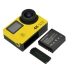 "2-Screen Action Camera 12MP Mini Sport DV w/ 2"" LCD, Wi-Fi,1080p,4K"