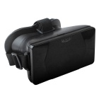 "Relliance 3D Plastic Virtual Reality Video Glasses for 4.0-6.5"" Android / iOS Smartphone - Black"