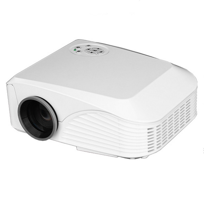 G888 1000lm LED Projector w/ 800 x 600 Native Resolution Ratio