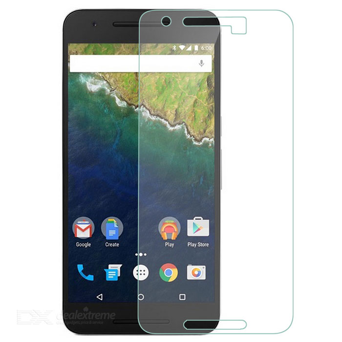 9H Tempered Glass Screen Protector for Google Nexus 6P - Transparent