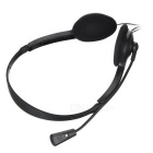 OVLENG 3.5mm Wired Headband Headphone w/ Mic - Black
