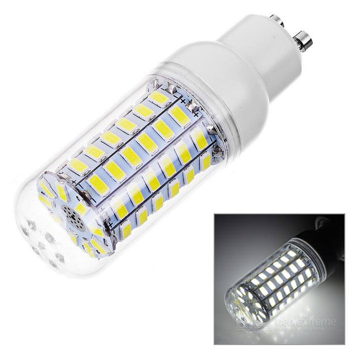 GU10 6W LED Corn Bulb Lamp Cold White Light 6000K 550lm 69-SMD 5730