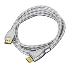 CY DP Displayport 1.2 4K 2K 60Hz Male to Male Cable for PC Laptop Monitor & Graphics Card (1.8m)