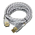 CY DP Displayport 1.2 4K 2K 60Hz Male to Male Cable for PC Laptop Monitor & Graphics Card (3.0m)