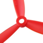 3-Blade 5045 Propeller Props Set for 250mm Quadcopter - Red (4Pairs)