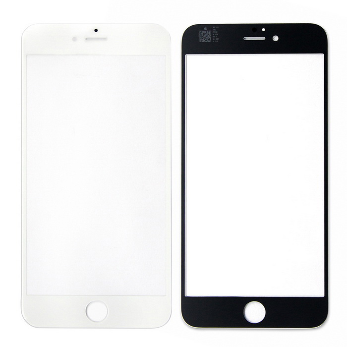 SKILIWAH Front Screen Glass Replacement Part for IPHONE 6 PLUS - White