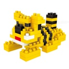 WLTOYS 6617 Tiger Building Blocks Educational Toy for Children / Kids - Yellow + Multi-Color