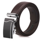 Fanshimite J05 Men's Automatic Buckle Leather Belt - Brown (130cm)