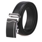 Fanshimite J05 Men's Automatic Buckle Leather Belt - Black (160cm)