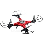 JJRC H5M 2.4G 4-CH R/C Aircraft w/ Gyro, One Button to Return, Headless Mode, Music - Red