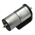 25GA-340 High Torque DC Gear Motor with Mounting Bracket (6V, 80RPM)