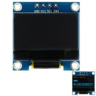 "0,96 ""Javali 128 * 64 I2C Interface de amarelo e azul OLED Módulo de Display"