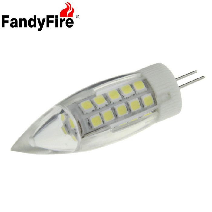 FandyFire G4 800lm 5W 44-LED 220V Bluish White Crystal Candle BulbG4<br>Form  ColorWhite,??+?Color BINBluish WhiteModelG4MaterialCeramic + pcQuantity1 DX.PCM.Model.AttributeModel.UnitPower5WRated VoltageAC 220 DX.PCM.Model.AttributeModel.UnitConnector TypeG4Emitter TypeOthers,2835Total Emitters44Theoretical Lumens800 DX.PCM.Model.AttributeModel.UnitActual Lumens800 DX.PCM.Model.AttributeModel.UnitColor Temperature12000K,Others,7000KDimmableNoBeam Angle360 DX.PCM.Model.AttributeModel.UnitPacking List1 x LED lamp<br>