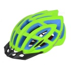 Basecamp EPS + PC Bicycle Safety Helmet - Fluorescent Green + Black